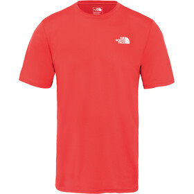 The North Face Flex II Hardloopshirt korte mouwen Heren rood